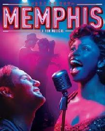 Memphis the musical on Broadway