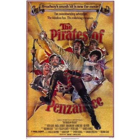 The Pirates of Penzance with Linda Ronstadt, Rex Smith, and Kevin Klein